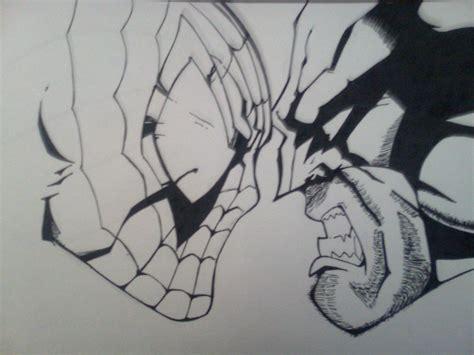 imagenes de wolverine en caricatura a lapiz dibujo de spiderman y wolverine terminado taringa