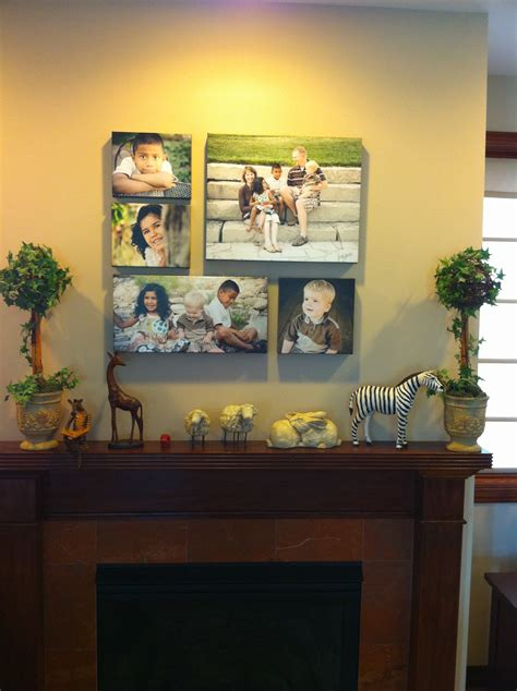 grouping family pictures on a wall the image canvas wall groupings cathy mores