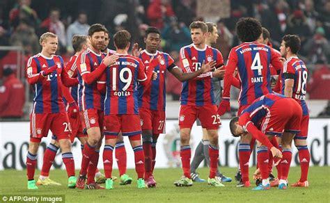 bayern 1 wohnzimmertour 2015 bayern munich claim win of 2015 while borussia