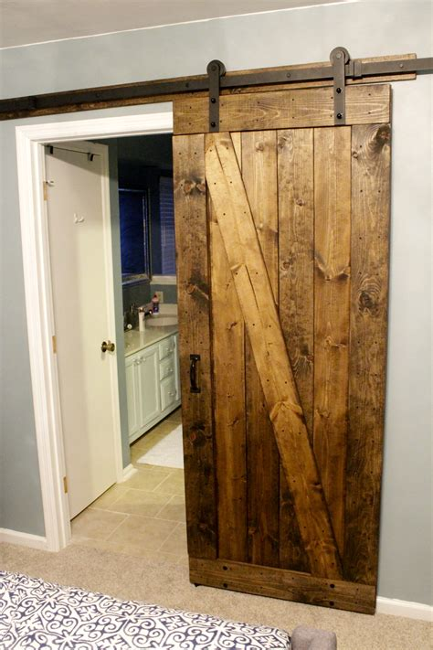 How To Build A Rustic Barn Door Charleston Crafted Build A Barn Door Plans