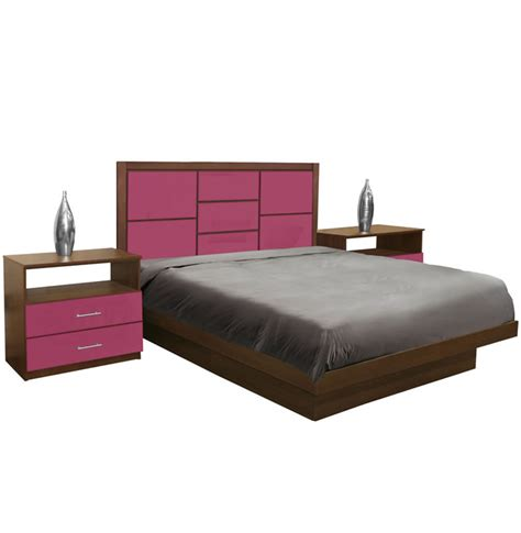 platform bedroom sets king uptown king size platform bedroom set 4 piece contempo space