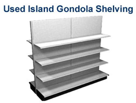 island gondola wall shelving and endcaps