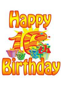 free 16th birthday cards 16th birthday cards with message ideas and poems