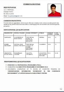 Resume Formates by Resume Format Write The Best Resume
