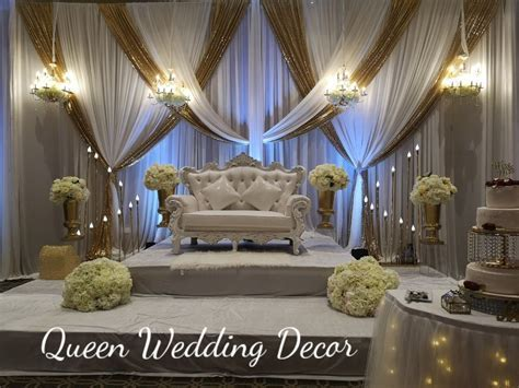 Brampton Masonic Hall   Queen Wedding Decor
