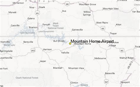 mountain home airport weather station record historical