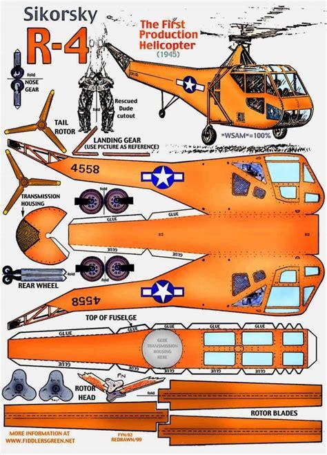 How To Make A Paper Helicopter Model - 154 best images about aviones de papel y de verdad on