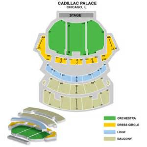 Cadillac Palace Seating Chart Loge Seating Cadillac Theater Box