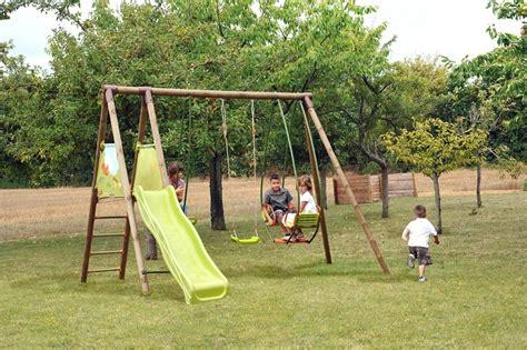 giochi da giardino bimbi area giochi giardino mohave 1 altalena 1 cavalluccio 1