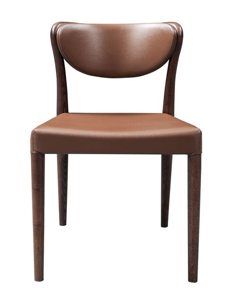 union modern brown oak dining chair set of 2 dining