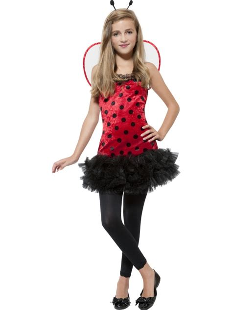 small teen teen miss ladybird costume extra small animals insects
