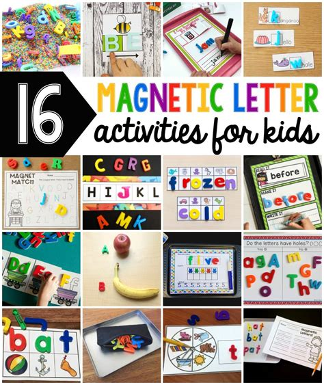 kindergarten activities with magnetic letters magnetic letter name search sensory bin