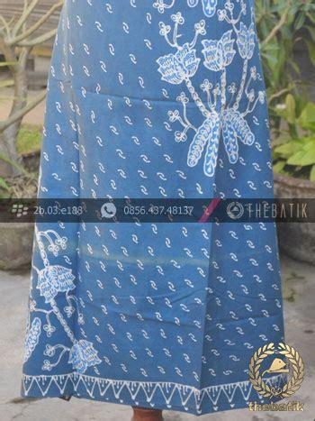 Kain Batik Tulis Warna Alam Parang batik tulis warna alam motif buketan indigo thebatik co id