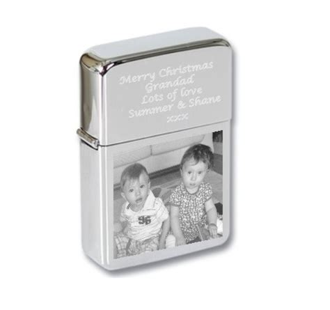 personalised photo engraved lighter set a1 personalised