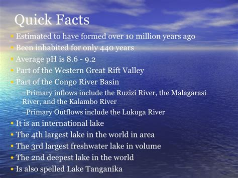 valley fact a lake tanganyika
