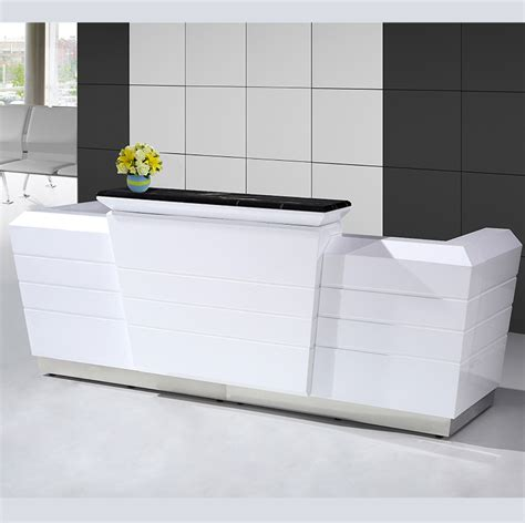 commercial reception desk modern reception desk hanstone quartz cascina collection