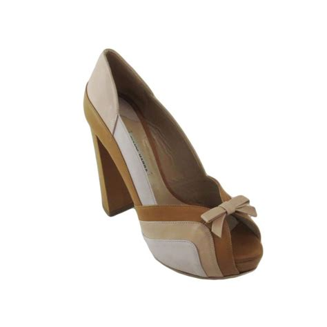 gianni marra s shoes open toe high heel beige 6003