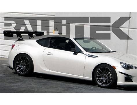 2015 subaru frs apr gt 250 carbon fiber wing 61in brz fr s 2013 2015