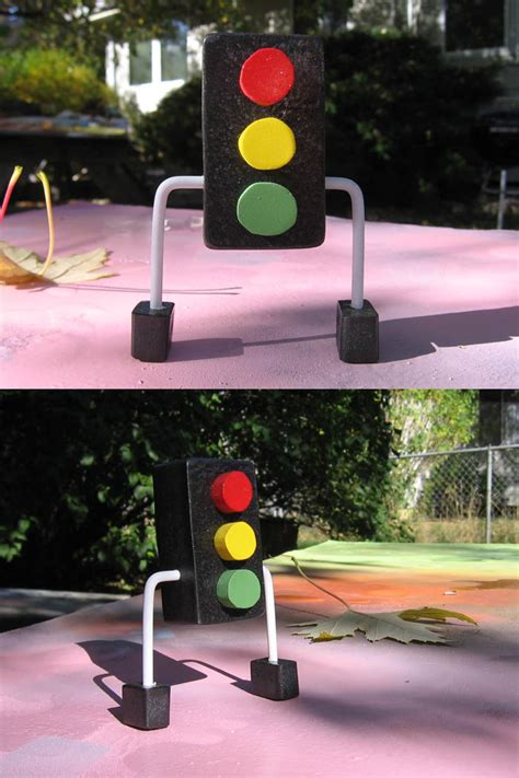 How Big Is A Traffic Light by Toystore Oneoffs