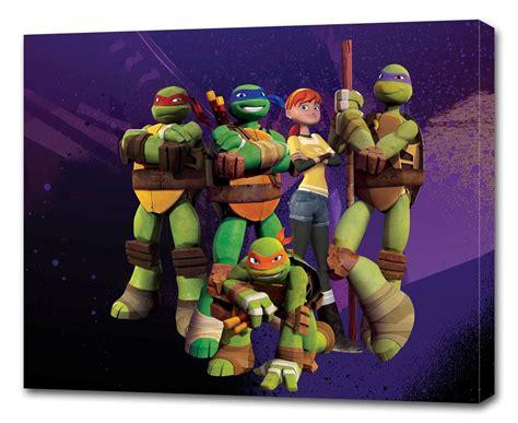 Tmnt ninja turtles canvas print wall decor art giclee kids bedroom all sizes ebay