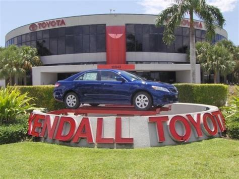 Kendall Toyota Used Cars Kendall Toyota Miami Fl 33156 3752 Car Dealership And