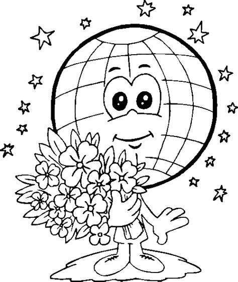 free earth day coloring pages for printable gt gt disney