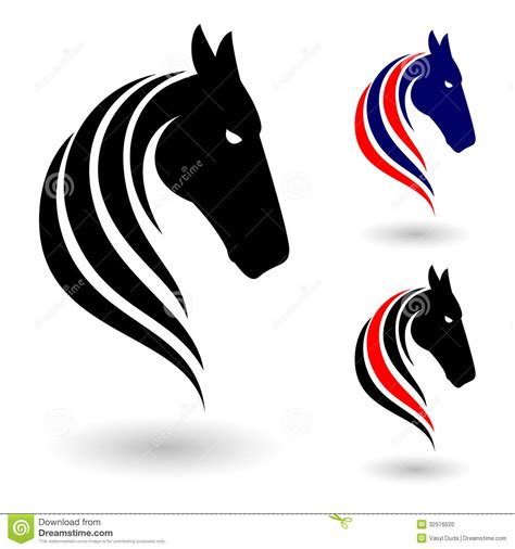 horse symbol stock photo image 32976020