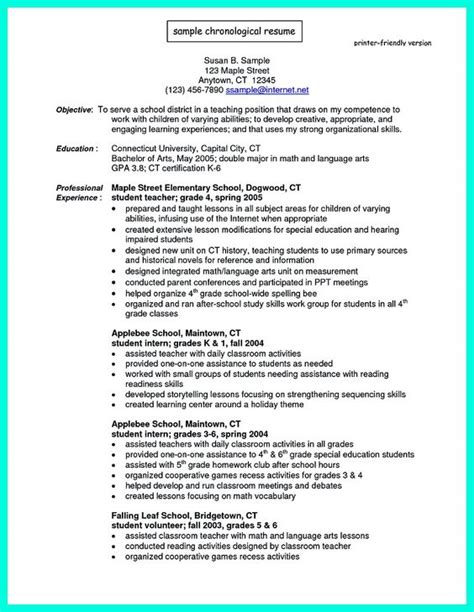 most widely used resume format the world s catalog of ideas