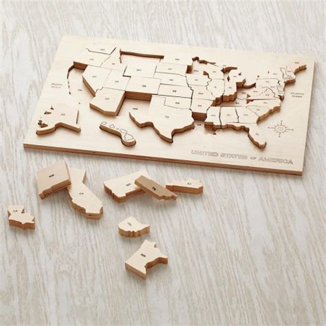 usa map puzzle wooden back to school wooden usa puzzle 171 buymodernbaby
