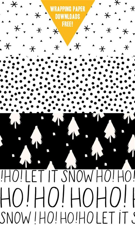 free printable wrapping paper pinterest free printable christmas and holiday wrapping paper 5