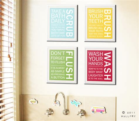 bathroom prints etsy bathroom art prints bathroom rules kids bathroom wall by