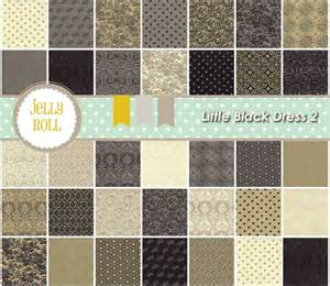 Little black dress 2 quilt fabric strips jelly roll 30350jr by