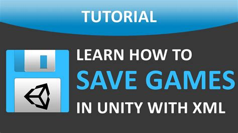 unity tutorial save game how to save your game in unity 174 with xml files included