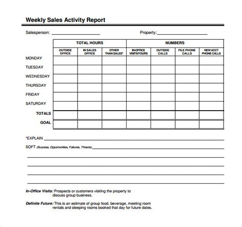daily call report template sle sales call report 14 documents in pdf word excel