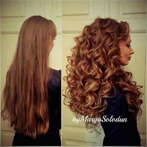 wave nouveau give you length 1000 ideas about long permed hairstyles on pinterest
