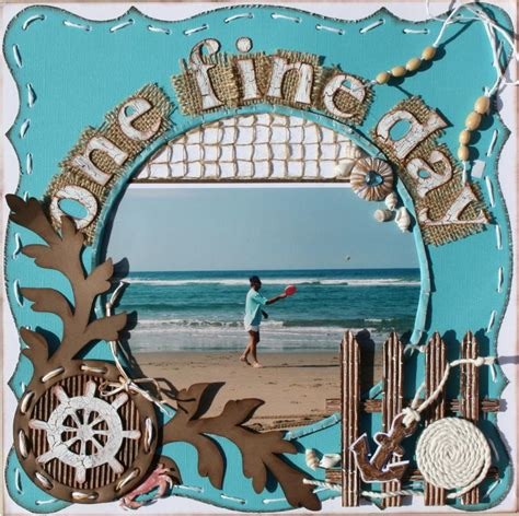 scrapbook layout beach 17 best images about scrapbook pages beach on pinterest