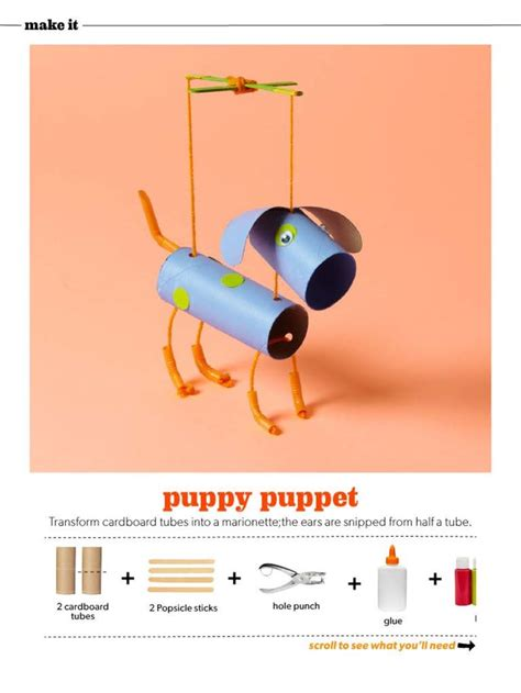 How To Make A Puppy Out Of Paper - 1078 best tp roll crafts images on toilet