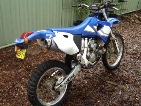 motocross gear sydney 2000 yamaha wr400f enduro berowra heights nsw