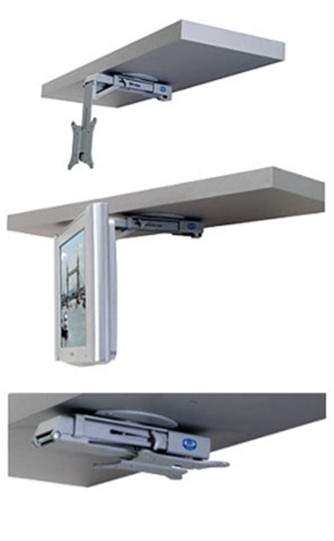 under cabinet mount tv for kitchen rv tv mounts a simple guide which works best for you