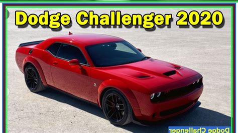 2020 Dodge Challenger Hellcat by 2020 Dodge Challenger Review 2020 Dodge Challenger