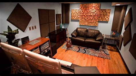 home recording studio design decorating ideas with