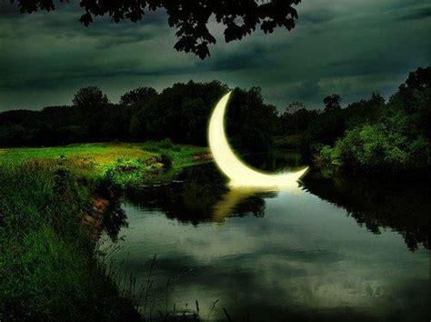 pin  chrissy  walking  enchanted pathway water reflections beautiful moon beautiful gif