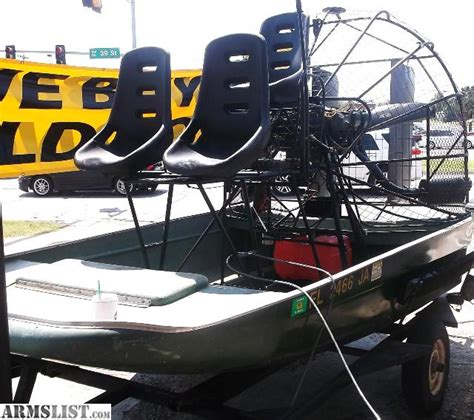 craigslist florida airboat armslist for sale airboat combee hull lycoming 180hp