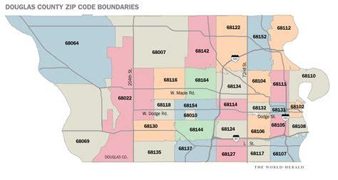 omaha zip code map omaha zip code