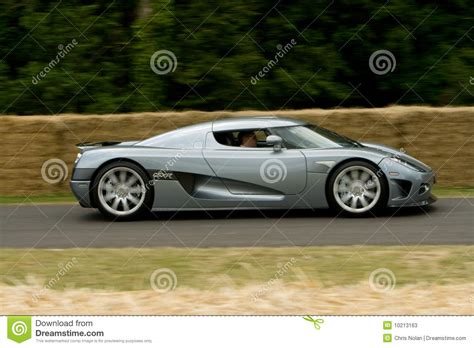 koenigsegg grey grey koenigsegg ccx r edition editorial stock photo