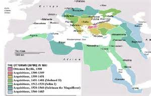 ottoman empire 1300 who were the colonizers of mena pre world war i beyond