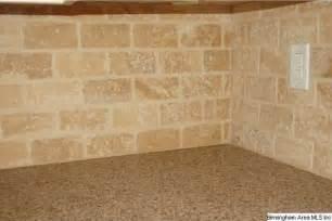 Marble Subway Tile Kitchen Backsplash by Tumbled Travertine Subway Tile Updating The Kitchen
