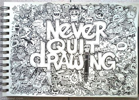 25 beautiful doodle art works around the world