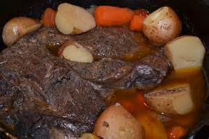 dutch oven chuck roast pot roast in the oven the ben