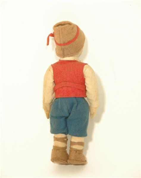 anili lenci doll antica bambola panno lenci anili googly felt boy doll